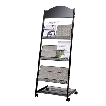 雑誌棚、宣伝材料棚、陳列棚、書籍や新聞棚、陳列棚、着陸新聞棚