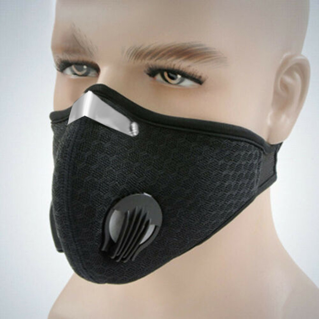 Outdoor Anti-dust Half Face Mask Mouth-muffle Windproof For Bicycle Skiing Mascherine Antivirus Anti-dust And Breathable Face Ma