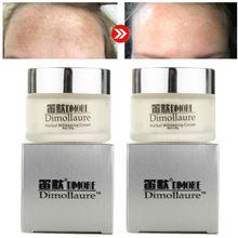 2pcs Dimollaure face Whitening cream 20g Removal melasma scars speckle Melanin s