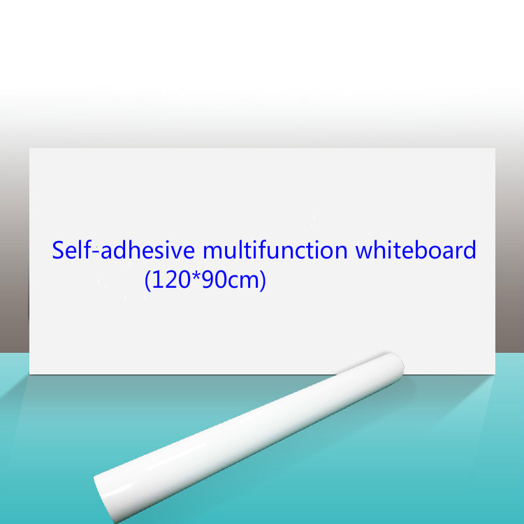 120*90cm Self-adhesive Soft Whiteboard Sticker Wall Paste Whiteboard Thickened Teaching Whiteboard  Wall Paste Erase Whiteboard