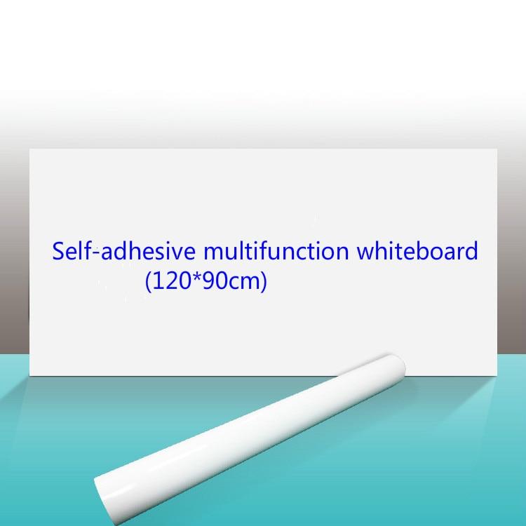120*90cm Self-adhesive Soft Whiteboard Sticker Wall Paste Whiteboard Thickened Teaching Whiteboard  Wall Paste Erase Whiteboard