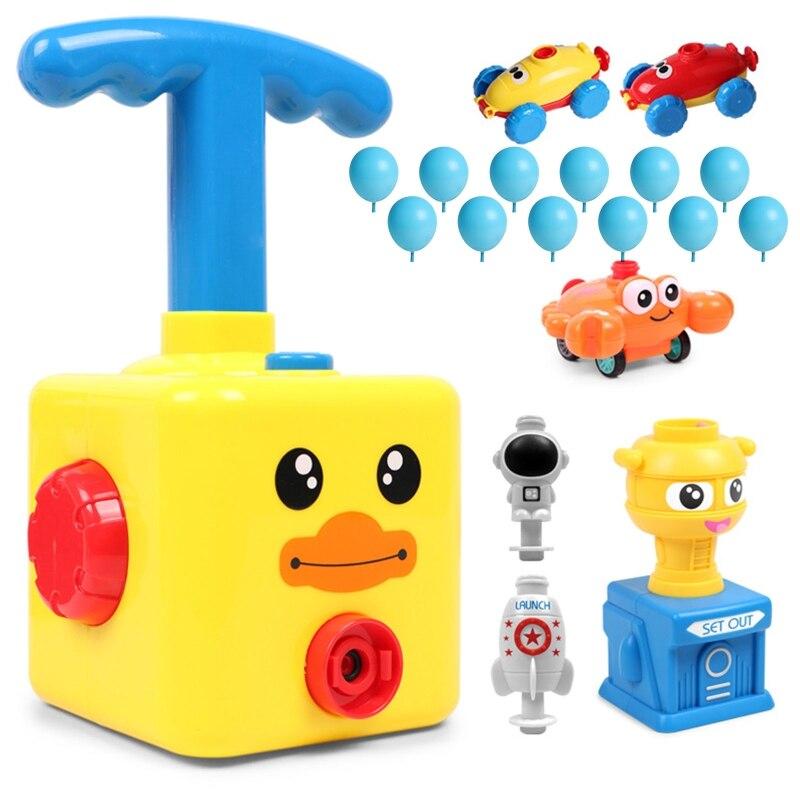 Мощный воздушный шар, автомобиль, игрушка для детей, подарок, Мощный воздушный шар, пусковая башня, игрушка, головоломка, забавное обучение, ...