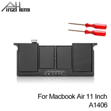 PINZHENG New Laptop Battery For Apple MacBook Air 11'' A1465 2012 A1370 2011 Production Replace A1406 A1495 Battery With Tools laptop cooler cpu cooling fan for macbook air 11 a1370 2011 a1465 2012 2015 u1je