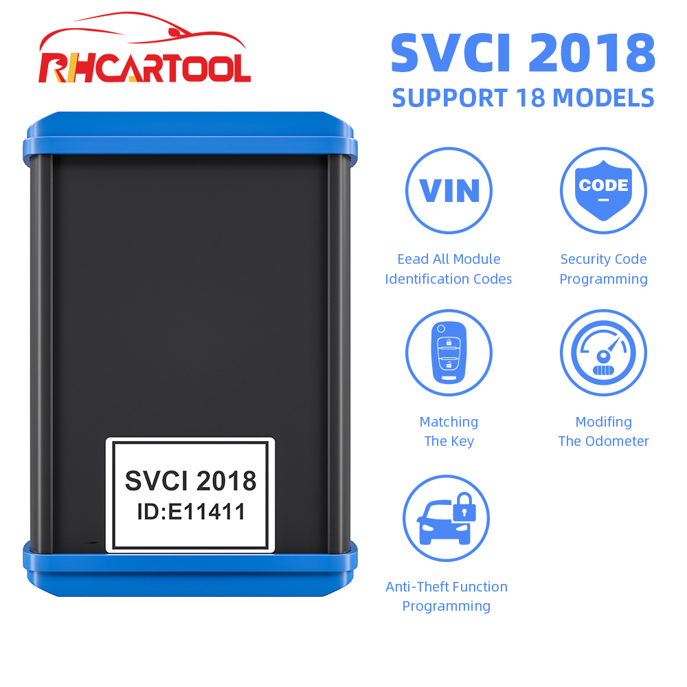 SVCI FVDI V2018 Original FVDI ABRITES Commander FVDI Full Version 18 Software VVDI No time limited V2014/2015 FVDI-in Auto Key Programmers from Automobiles & Motorcycles    1
