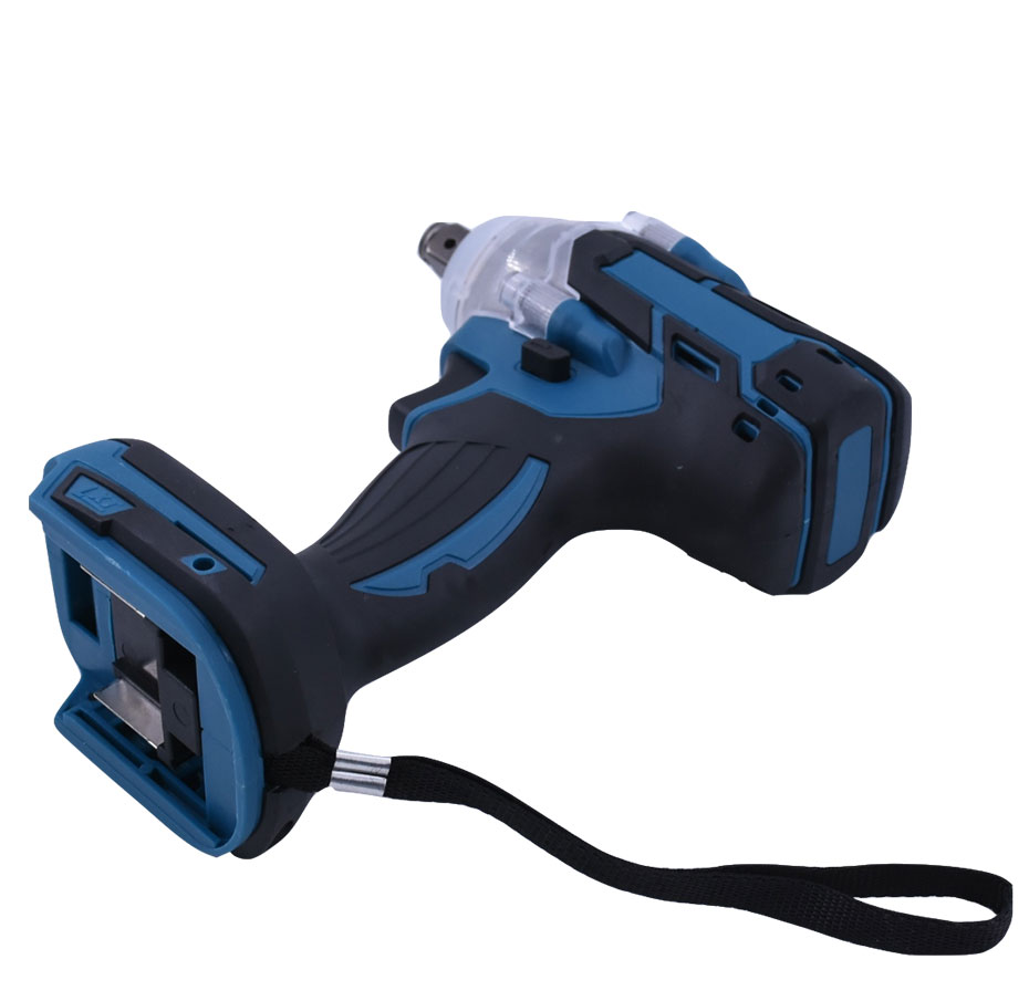 Tools : 18V 520Nm Electric Rechargeable Brushless Impact Wrench Cordless 1 2 Socket Wrench Power Tool For Makita Battery DTW285Z