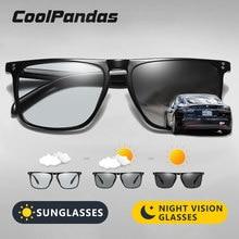 Marca designer rebite quadrado photochromic polarizado óculos de sol tony stark masculino unisex retro óculos de sol mulher gafas de sol hombre