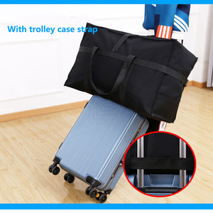 Image 2 - Large capacity luggage bag 158 air shipping package abroad study abroad moving bag Oxford cloth waterproof folding storage