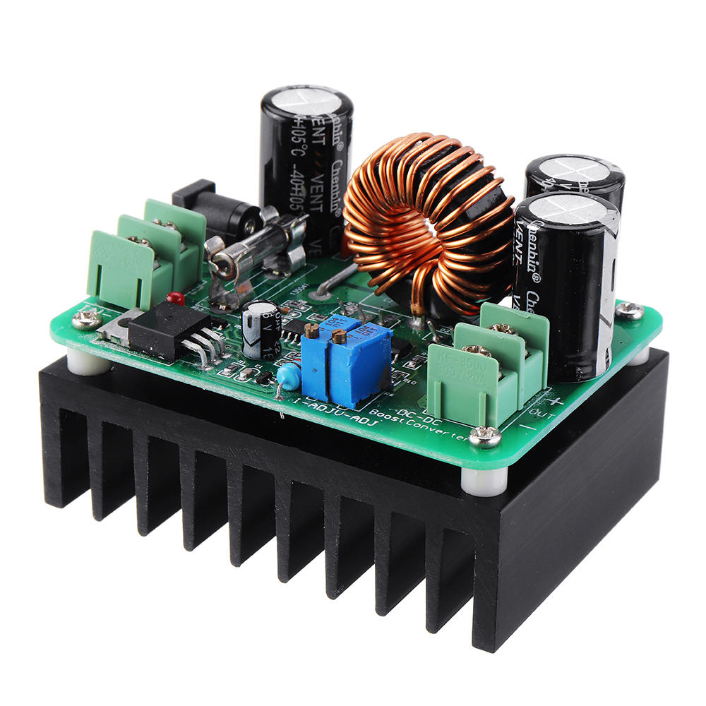 DC-DC 10-60V to 12-80V 600W 10A Boost Converter Step Up Voltage Regulator Power Supply Module Transformer Adjustable Output image