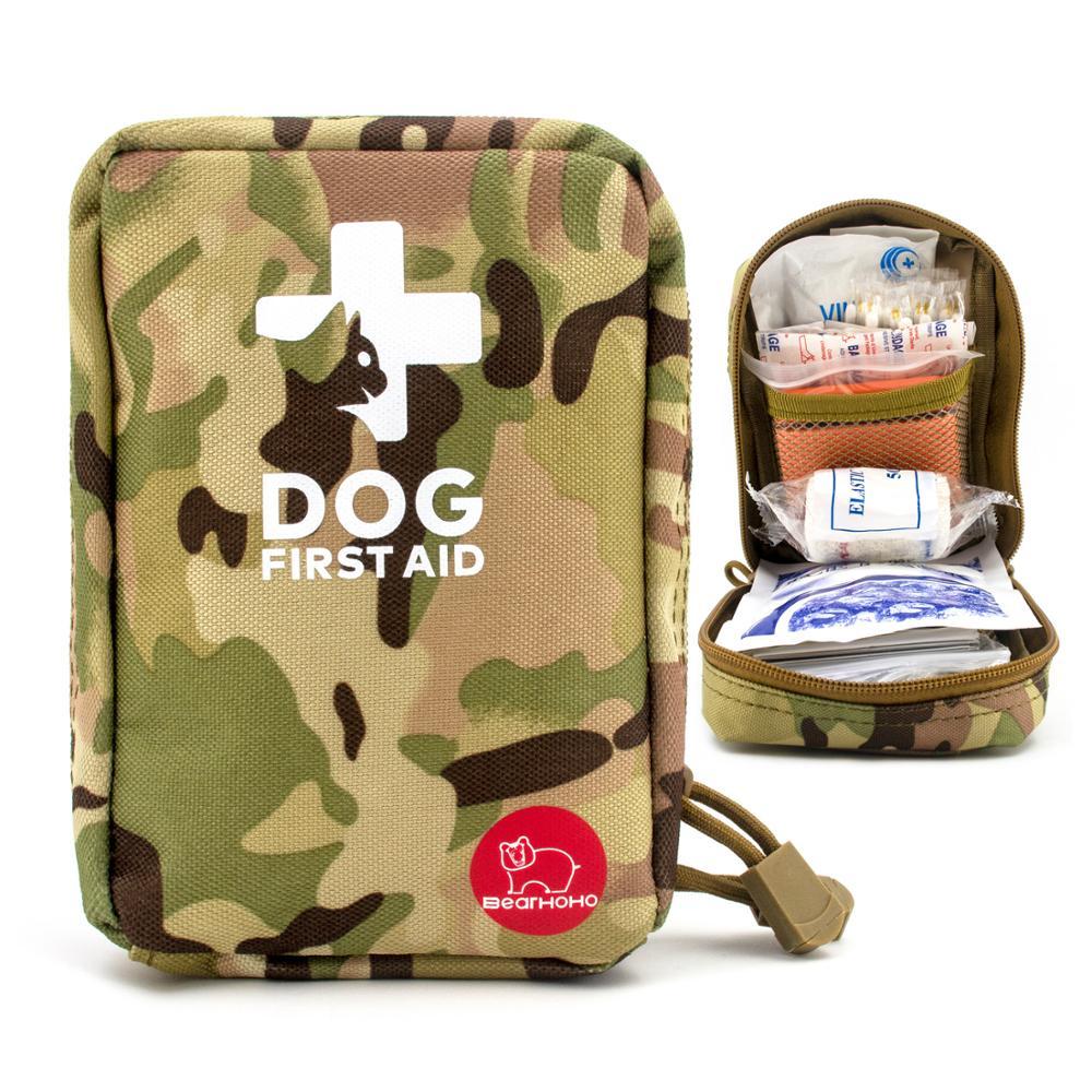 Набор первой помощи для домашних животных, военный комплект аварийной помощи для собак, тактическая медицинская сумка, аптечка, органайзер ...