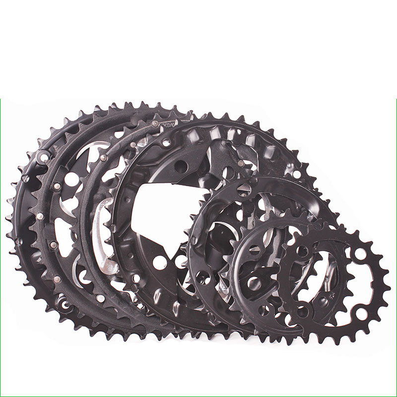 9 Speed 10 speed 22//24/32/42/44T Round Shape Bicycle Chainring 104BCD MTB Mountain Bike Crown Steel bicycle Tooth plate Parts