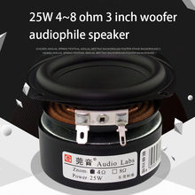 25W 4 8 Ohm 3 Inch Woofer Enthusiastgrade Home Subwoofer Speaker Low Frequency Powerful Small Steel Cannon Hifi Bass Speaker