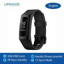 Lifesense Band 3 Sports podomètre de course multi-fonction 28 jours Bluetooth fréquence cardiaque électronique sommeil montre intelligente sport