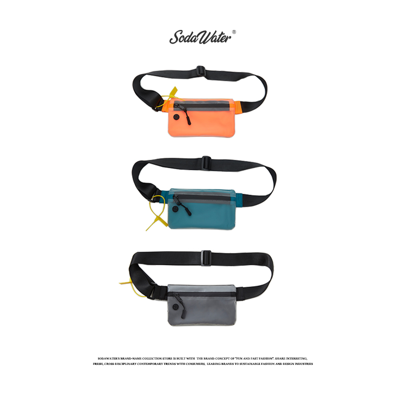 849.83руб. 50% СКИДКА|SODAWATER, маленькая поясная сумка для мужчин, уличная, поясная сумка для мальчиков, унисекс, поясные сумки, мужские, женские, эластичные, модные кошельки для денег 206AI2019-in Поясные сумки from Багаж и сумки on AliExpress - 11.11_Double 11_Singles