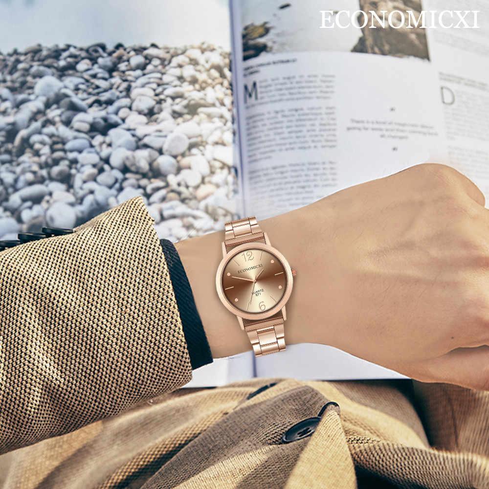 Relógio de Negócio Dos Homens 2019 Marca de Moda de Luxo Data Reloj Hombre Relogio masculino quartzo Esporte ocasional Do Vintage Preto de Aço
