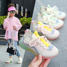 2020 New Hot Autumn Kids Shoes Breathable Boys Girls Sport