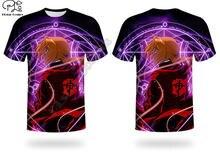 Fullmetal alchemist 3d печатные harajuku уличные футболки с