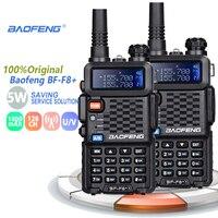 vhf uhf 2pcs Baofeng BF-F8 + מכשיר קשר Dual Band המקצועי VHF UHF שתי דרך רדיו התחנה Woki טוקי משדר Ham Radio Network (1)