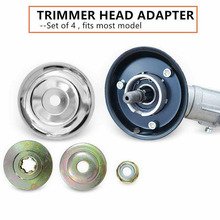 4 Pcs Outdoor Trimmer Head Adaptor Kit Protective Cover Repairing Accessories P7Ding