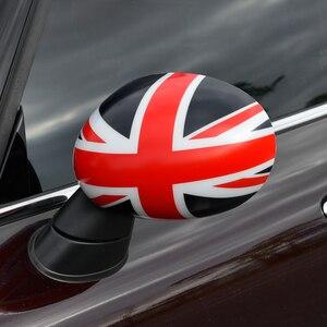 Image 2 - اكسسوارات السيارات التصميم الخارجي لسيارة ميني كوبر F54 F55 F56 F57 F60 سيارة مرآة الرؤية الخلفية ملصق مزخرفة غطاء حامي