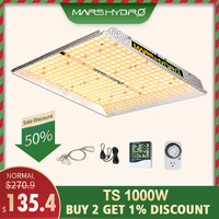 MarsHydro led grow light Full spectrum TS 1000W indoor plant hydroponic system led growing light Grow tent and Grow Lights Panel
