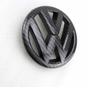 135 мм углеродное волокно передний Гриль значок на замену эмблема автомобиля логотип Подходит для Фольксваген Гольф MK6 2009 2010 2011 2012