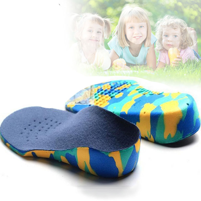 Kids Orthotics Insoles Correction Care Tool For Kid Flat Foot Arch Support Orthopedic Children Insole Soles Sport Shoes Pads