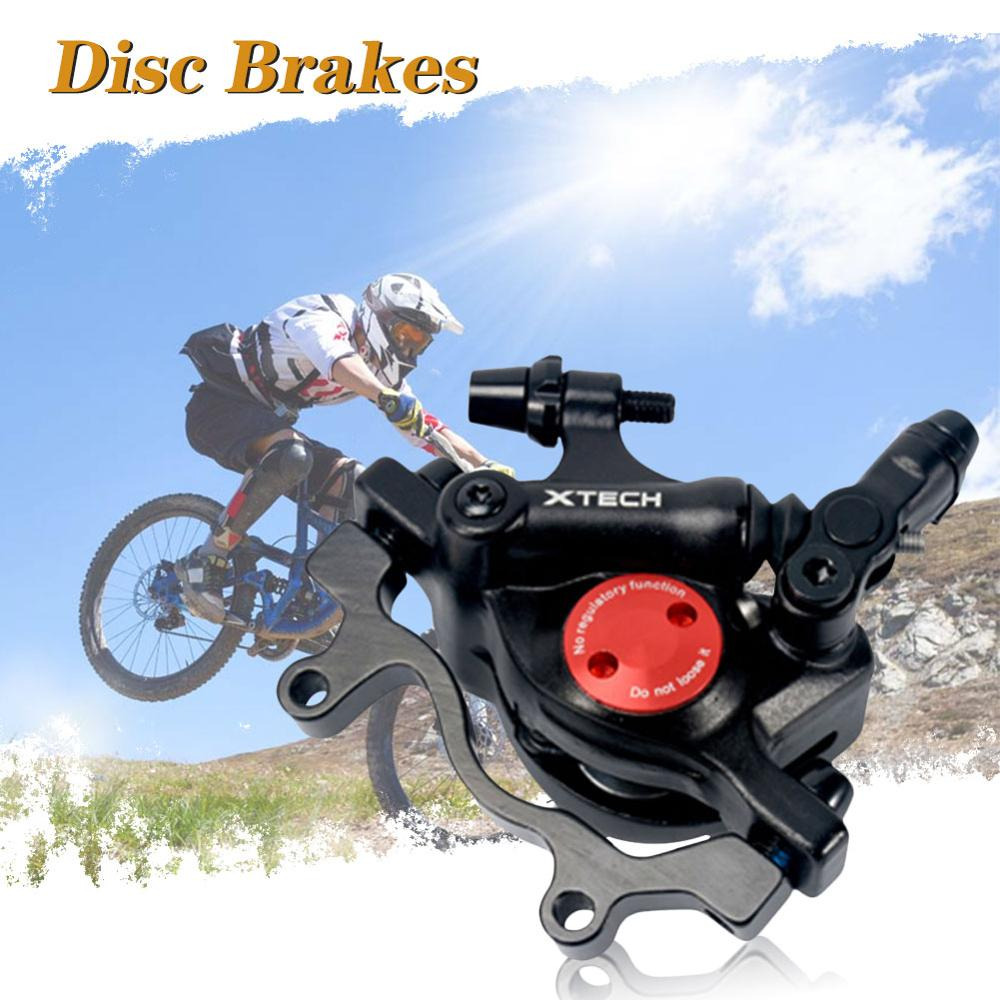 Calipers MTB Line Pulling Hydraulic Disc Brake Calipers Oil Disc Brake Caliper Electric Scooter Disc Brake Set for Xiaomi M365 image