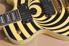 Free Shipping Factory custom shop New Top Quality yellow Vertigo Custom Electric Guitar 01(China)