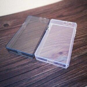 Image 3 - Yumuşak temizle kristal TPU deli kılıf kapak için Iriver Astell & Kern SP1000 ön ekran koruyucu temperli cam