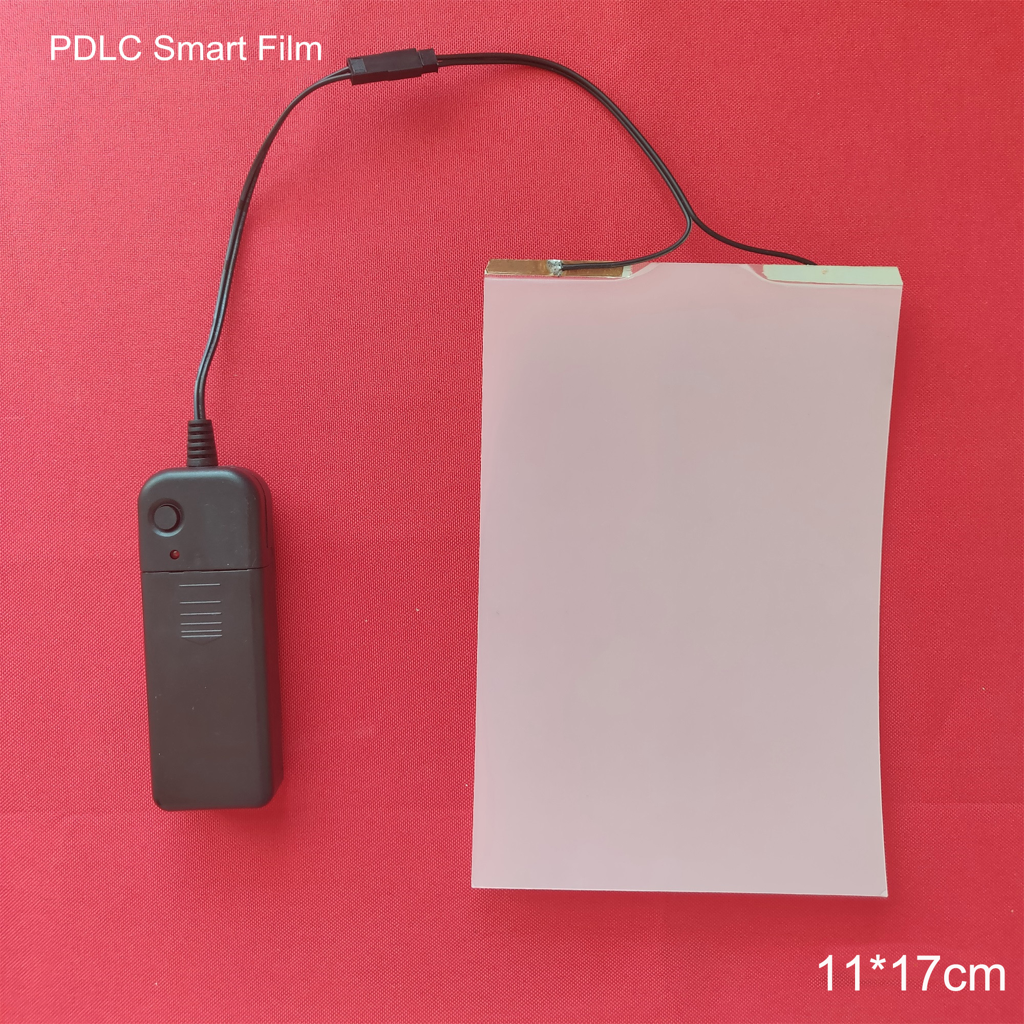 115*175mm Sample Electric Self-adhesive PDLC Film Smart Dimming Film Glass Window Door Tint Home Cinema Meeting Room