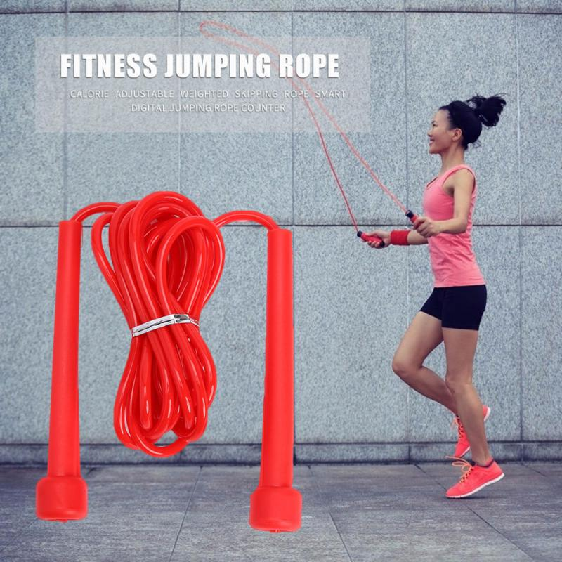 Speed Jump Jumping Rope Crossfit Black Boxing Cross Fit Fitness Training Home