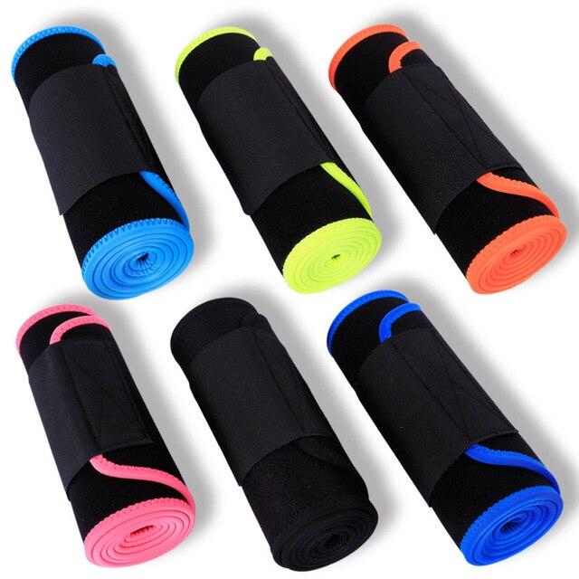 Adjustable Elastic Waist Support Belt Lumbar Back Sweat Belt Fitness Weightlifting Sports Waist Trainer Safety For Women Men 1