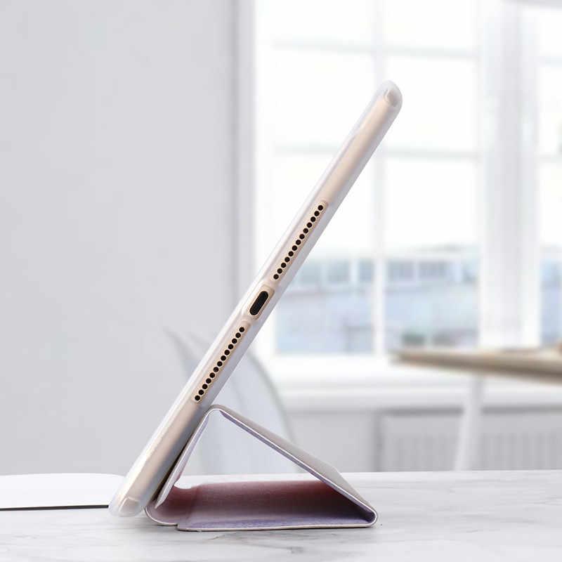 Для iPad 9,7 2019 2017 чехол ТПУ Мрамор из кожи с натуральным лицевым покрытием смарт-крышка для iPad 5/6 Air 2 Mini 1/2/3, iPad 2/3/4 Pro 10,5 мини 4/5 чехол