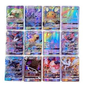 Image 4 - Keine wiederholung Pokemons GX karte Glänzende TAKARA TOMY Karten Spiel Schlacht Carte Trading Kinder Spielzeug