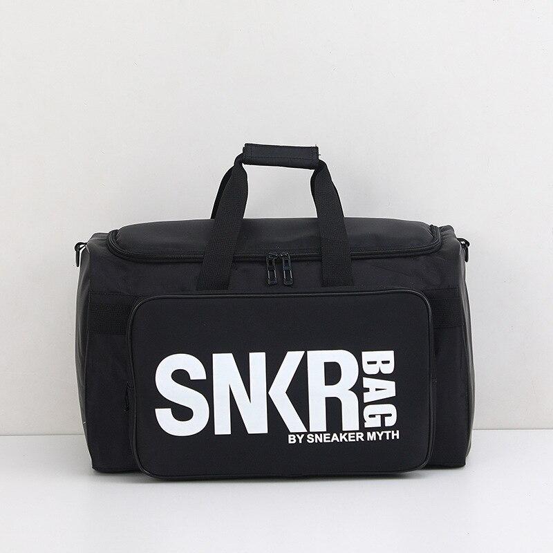 Snkr Multi-functional Sneakers Storage Travel Bag Sports Gym Bag Lan Qiu Bao Large Duffel Bag A Generation Of Fat