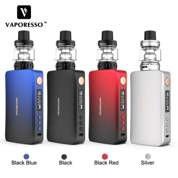 Original Vaporesso GEN TC 220w Vape Kit with Vaporesso GEN E Cigarette Box Mod & SKRR s Tank use QF Coil GT Coil VS LUXE s Kit original ehpro 2 in 1 fusion 150w tc kit max 150w w fusion mod
