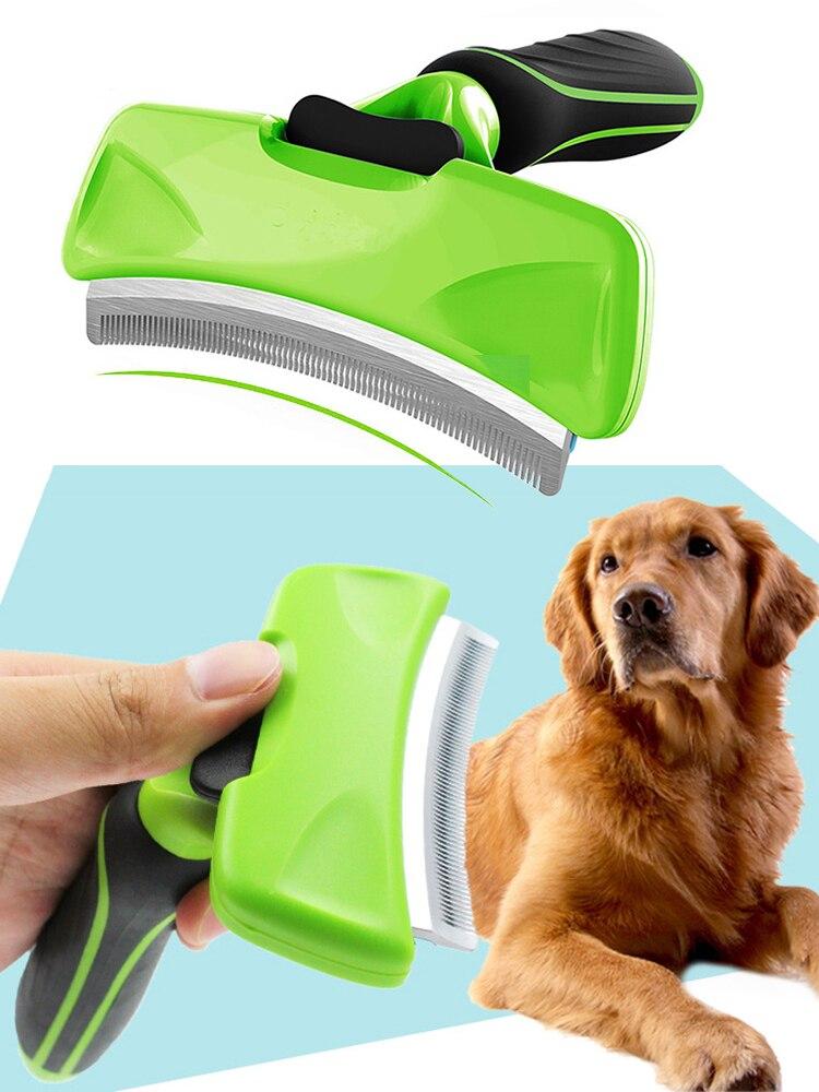 Combs Grooming-Brush Deshedding-Tool Pet-Hair-Remover Edge-Trimming Furmine Dog-Cat-Rake