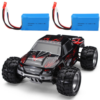Wltoys A979 with Two Batteries 1:18 2.4G 4WD Off-Road Truck Remote Control RC Car Vehicles RTR Model