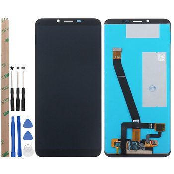 Cubot X19​ LCD Display + Touch Screen Digitizer With Frame +Film Replacement With Tools +Adhesive For Cubot X19 Phone