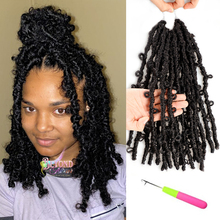 Crochet Hair Butterfly-Accessories Faux-Locs Pre-Twisted-Passion Distressed Pre-Looped