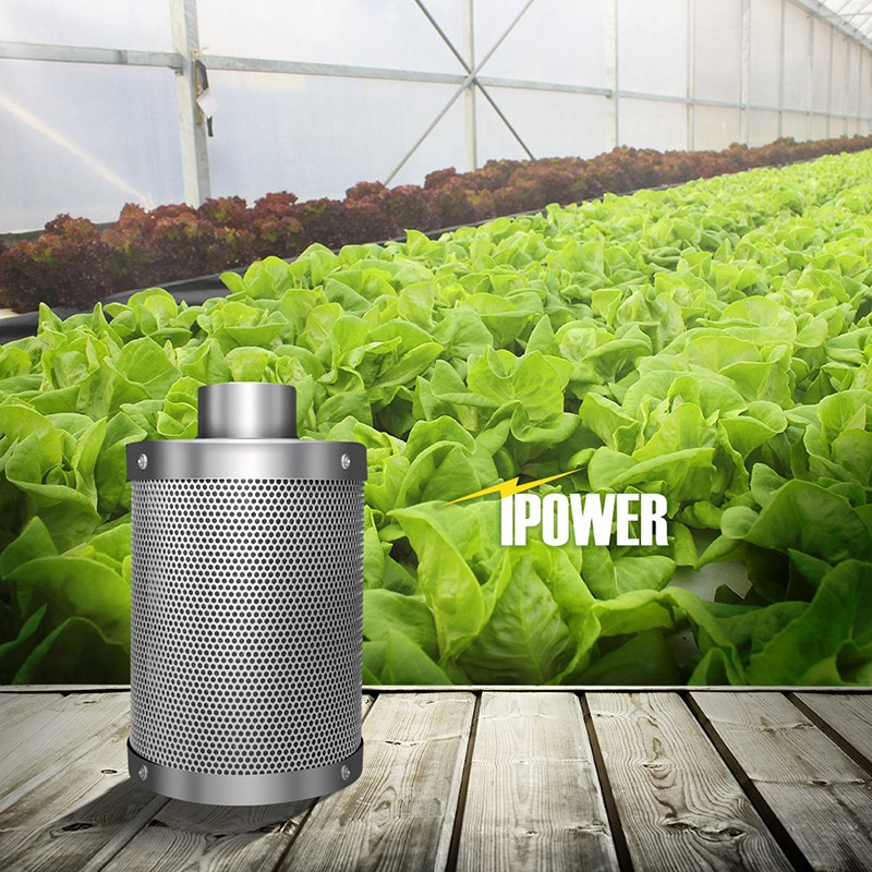 Hydroponics Activated Carbon Filter Indoor Plant Air Exhaust Filter Cotton Air Purifier Parts With 99.9% Deodorizing Ability