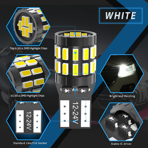Image 3 - 10x T10 W5W Led Canbus Lampen 168 194 Parkeer Lights Voor Ford Mondeo MK3 MK4 Focus Fiesta Fusion Ranger C Max S Max Kuga F150