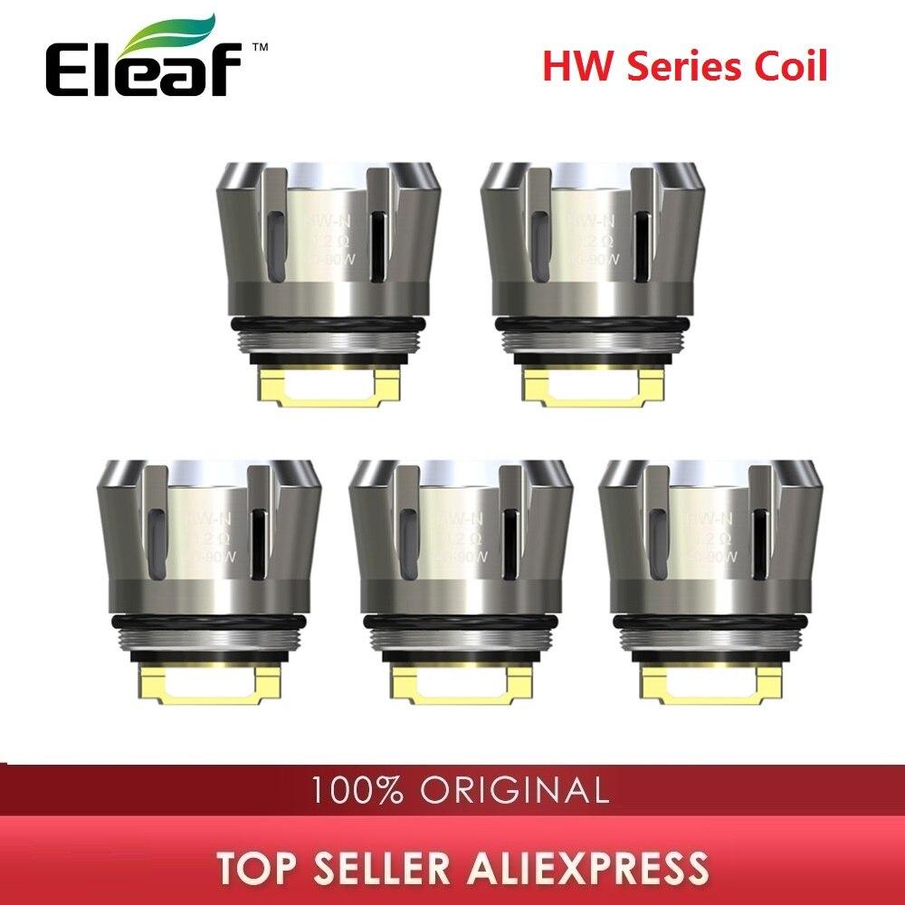 5pc Original Eleaf HW Series Coil HW1/2/3/4 HW-M HW-N For Ello Series Tank Vape Coil Head IJust 3 Kit Coil IStick Pico S HW Coil