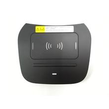 15W car QI wireless charger for Hyundai IX45 Grand Santa Fe phone fast charging