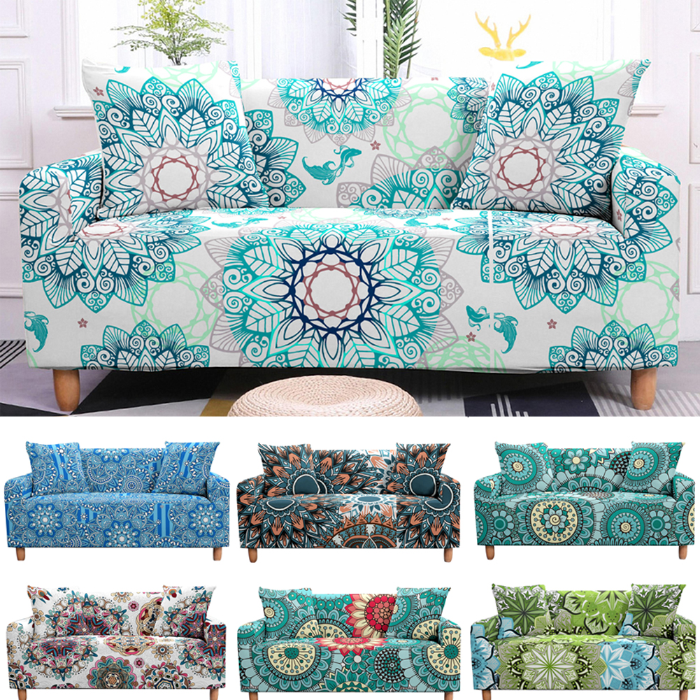 Bohemian Sofa Cover Stretch Slipcovers Elastic Armchair Cover 2 3 Seaters Couch Cover for Living Room
