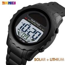 SKMEI Solar Supply Digital Watch Men Lithium Battery Sport M