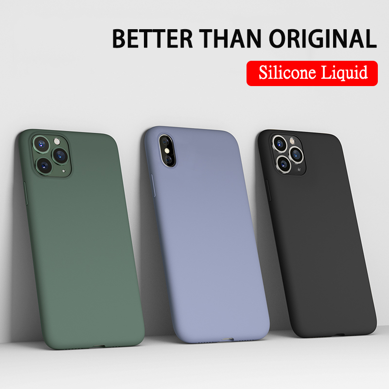 <font><b>Original</b></font> <font><b>Silicone</b></font> Liquid <font><b>Case</b></font> For Apple <font><b>iPhone</b></font> <font><b>X</b></font> XR 11 Pro XS Max 6 6S 7 8 Plus 5 5S SE 4 4S Phone Cover <font><b>Case</b></font> Soft TPU Girl <font><b>Case</b></font> image