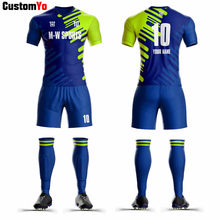 Best Quality Football Kits Sublimated Custom Football Uniforms Sports Football Jersey 2019(China)