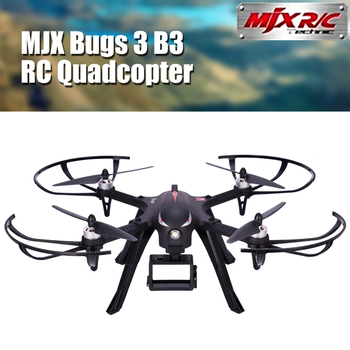 syma x8hw rc drone with wifi fpv or h9r 4k hd camera rc quadcopter 2 4g 6 axis rotating high hover rc helicopter vs mjx bugs 3 MJX Bugs 3 B3 RC Quadcopter Brushless Motor 2.4G 6-Axis Gyro Drone With 4K Camera Professional Dron Helicopter