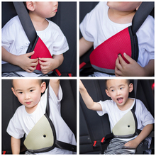 LEEPEE защита для ребенка, чехлы для автомобиля, регулировка ремня безопасности, устройство для плеча, треугольник, регулятор ремня безопасности, накладка